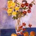 Simple flower still life