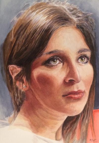 Beauty Italian Style (Watercolour)