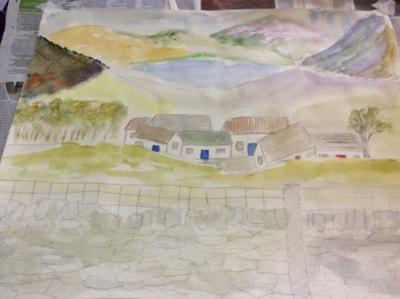 Sketch ....Lakeland Village.