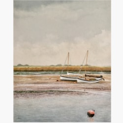 'Before the flow' Brancaster staithe,North Norfolk