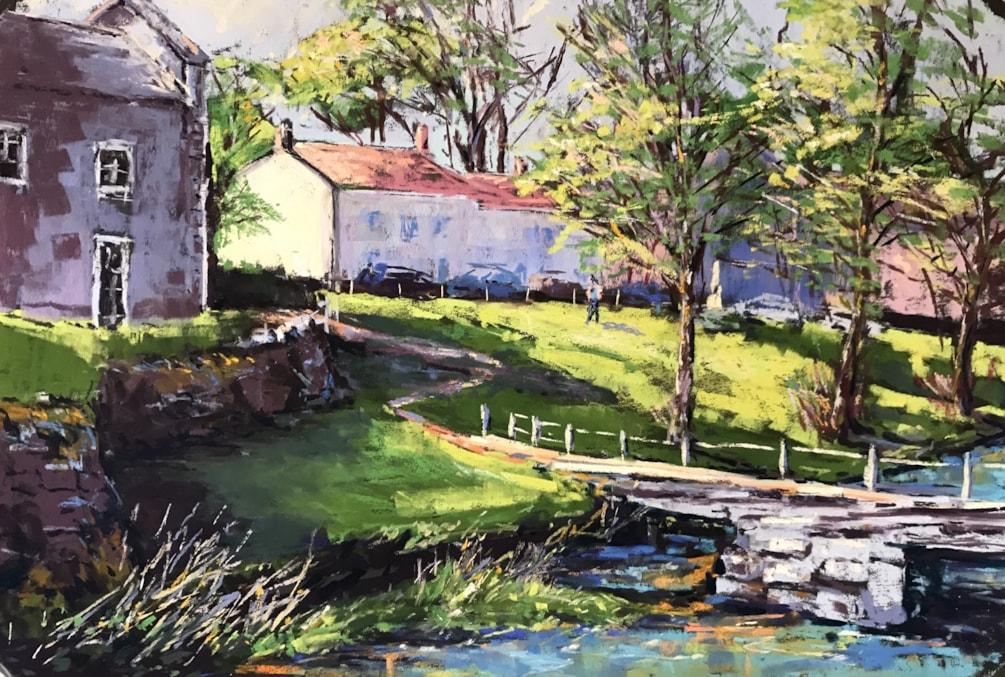 Quiet Afternoon, Linton Village, Yorkshire Dales