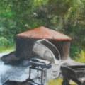 Charcoal kiln, Heligan