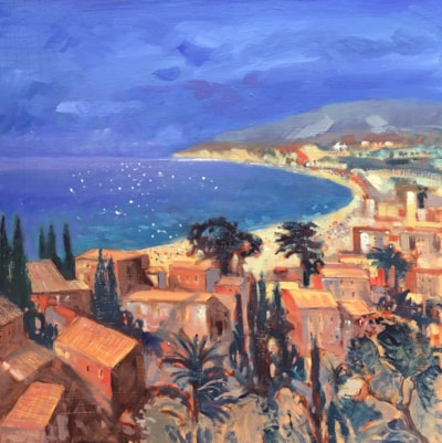 An Impression of Moraira, Costa Blanca.