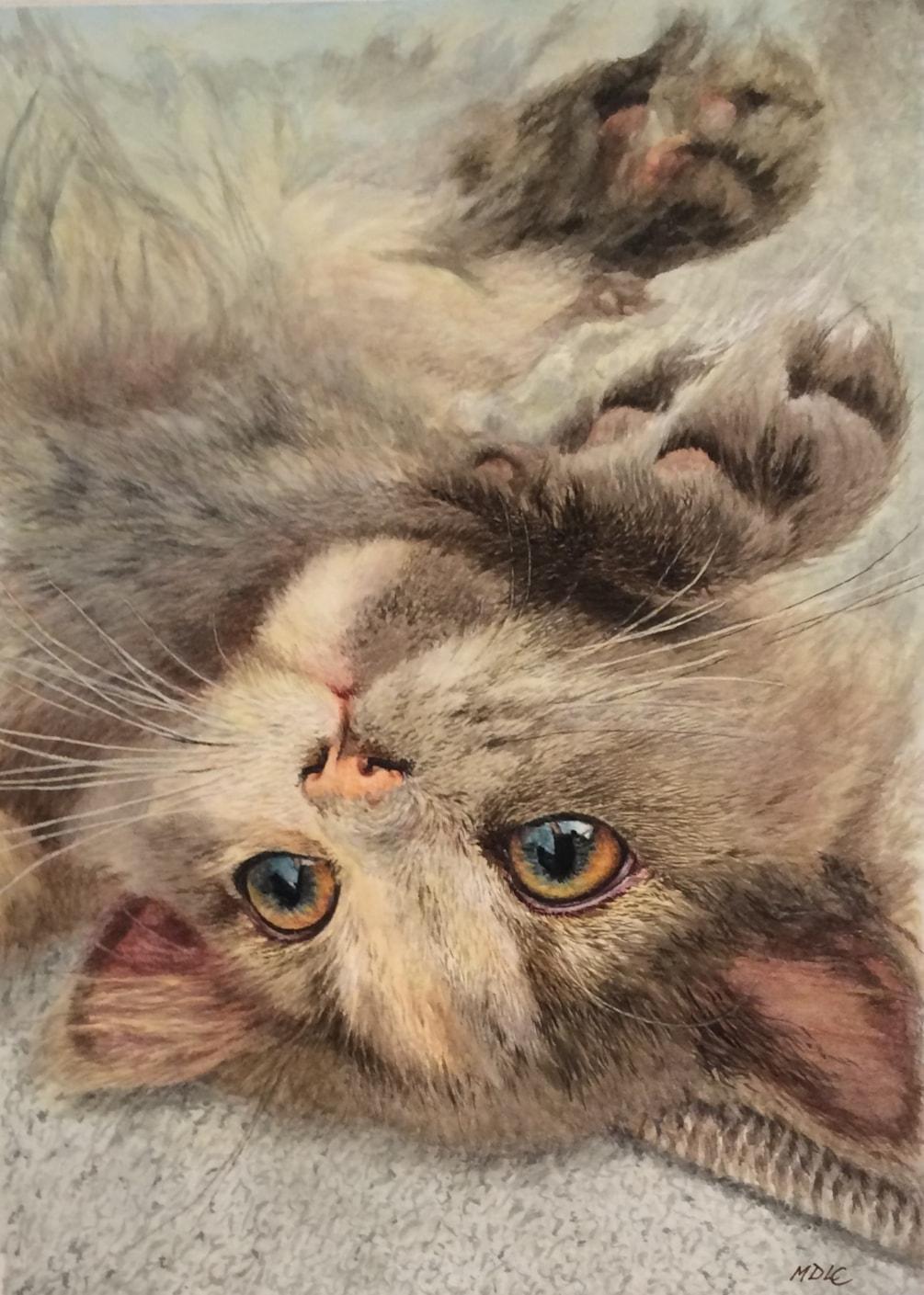 Little Olivia (Watercolour)
