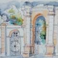 The Entrance To Attingham Park
