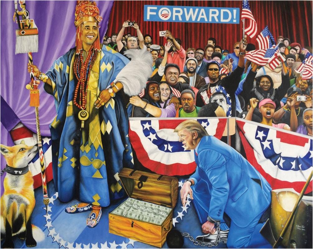 Kabiyesi Oba Obama (Unquestionable King Obama)
