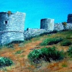 The Castle of Barbarossa - Capri - revisited!