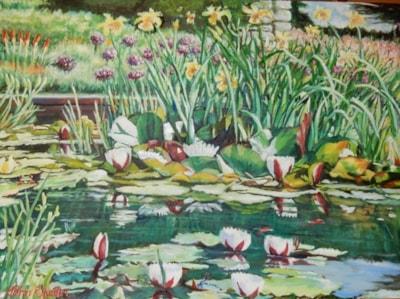 The Pond Ventnor Botanic Gardens