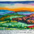 south downs v2 (colour brush pen version)