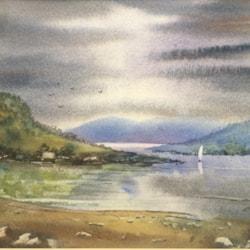 A lakeland scene