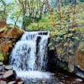 Waterfall near Matlock