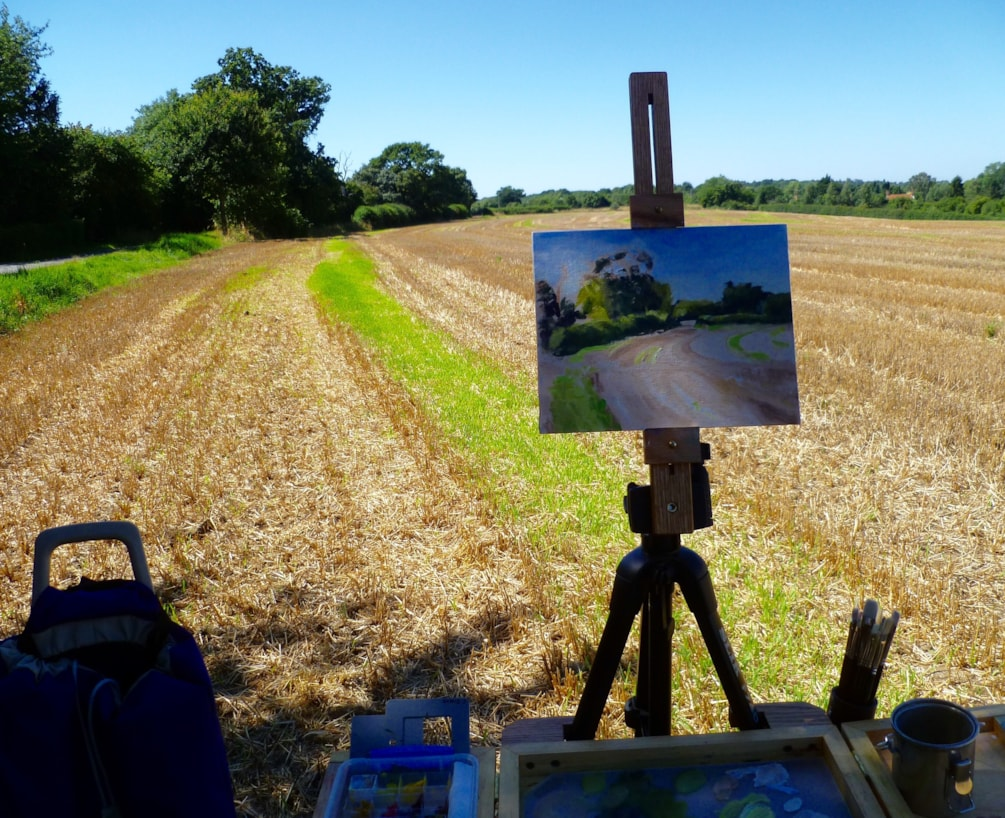 Plein air bits and pieces