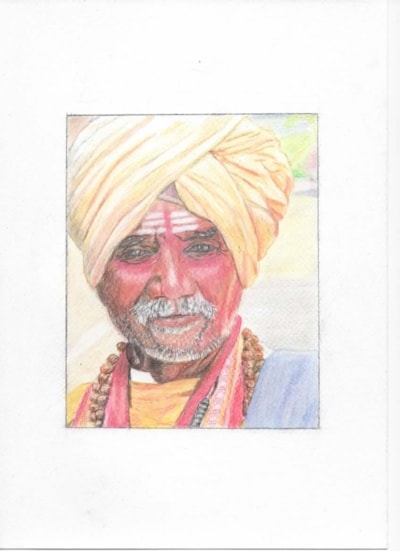 Indian Colour by Roger Sallis