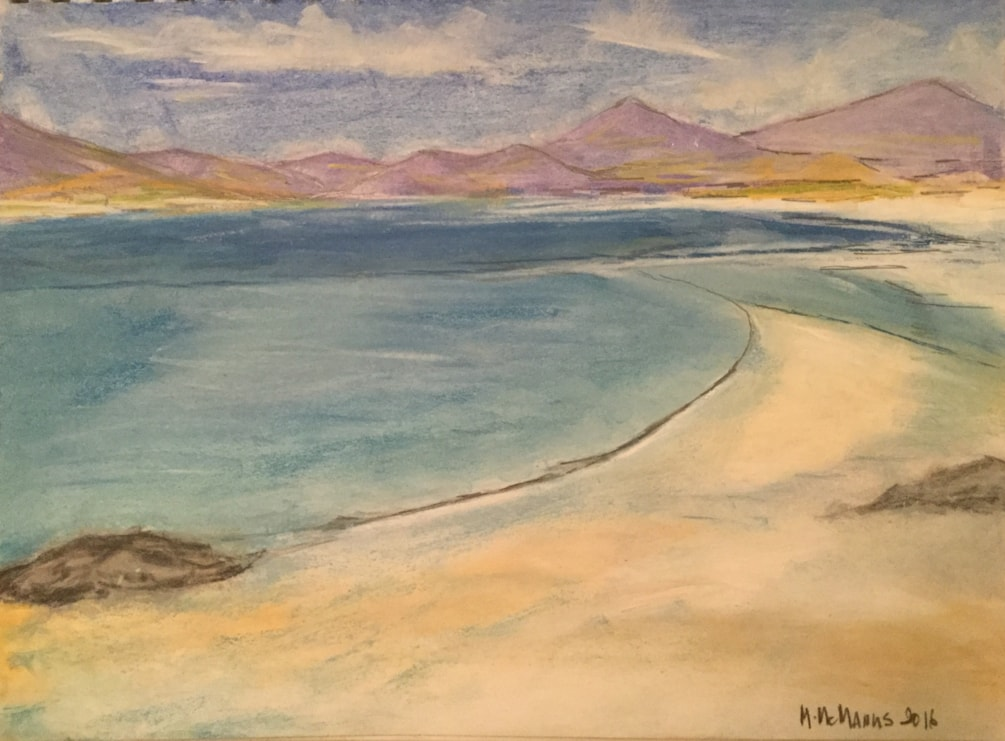 Luskentyre Beach, Isle of Harris, Scotland