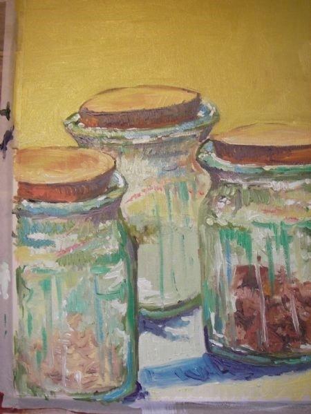 Green Jars