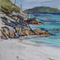 Looking out from Vatersay Bay