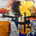 Stockton Brook. Acrylic on 20x30 canvas