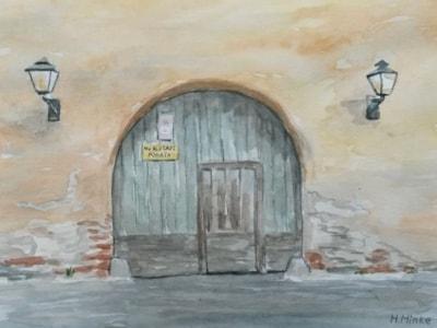 Old Gate Sibiu Romania