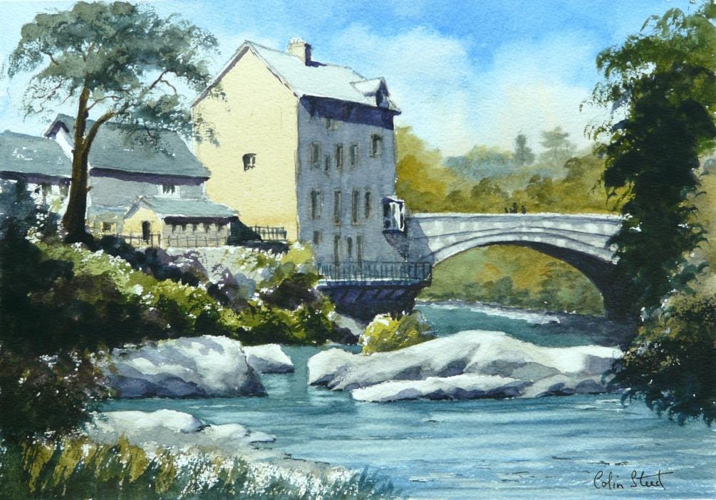 Rhayader in Powys, Wales