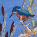 Kingfisher - collage