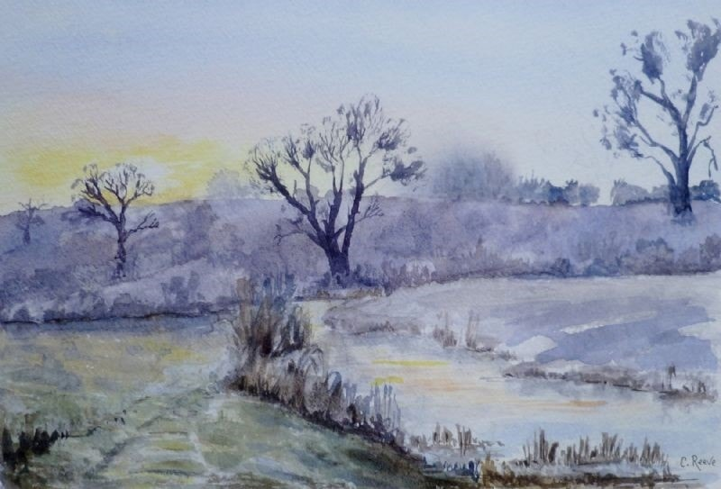Early morning, River Avon