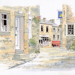 Haworth - Sketch