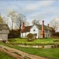 Lower Brockhampton original watercolour