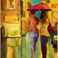 'Rainy night in Wrexham'