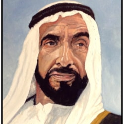 Sheik Zayed.