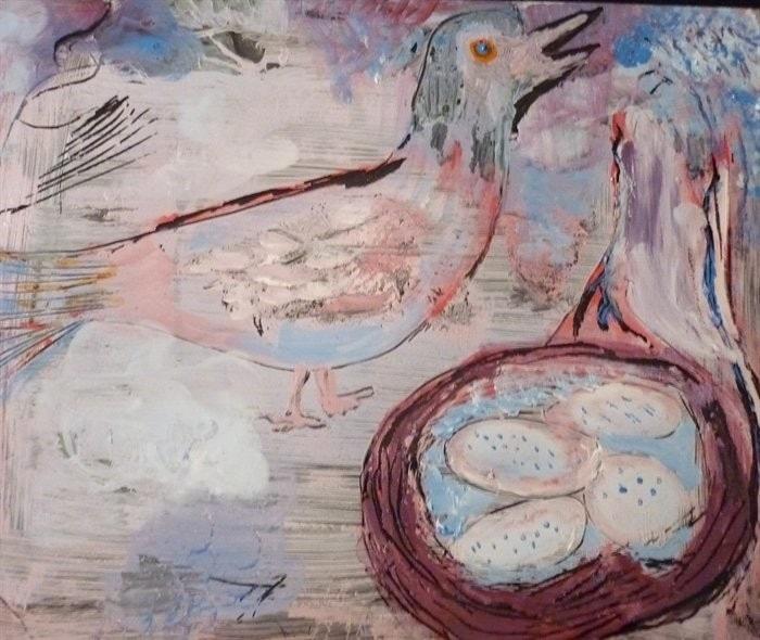 """""""The Cuckoo Bird""""   wandering bird...."""