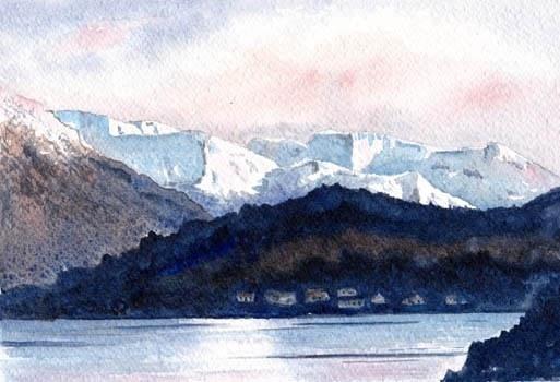 Dawn in Glencoe