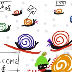 Welcome to the winter snails