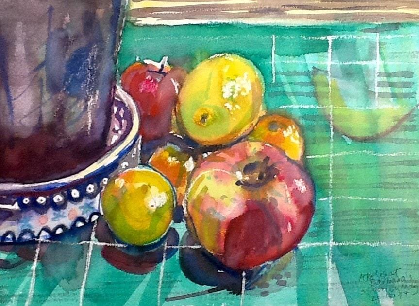 Apples at Barbara's