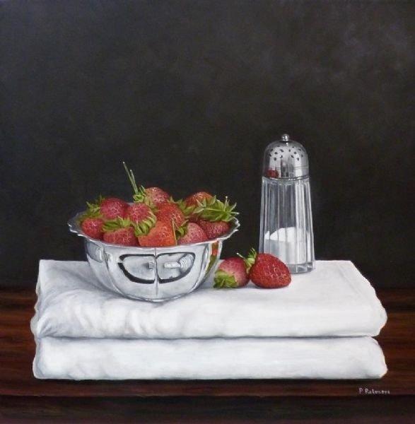 """Strawberries and sugar"""