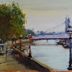 Morning light, Albert Bridge