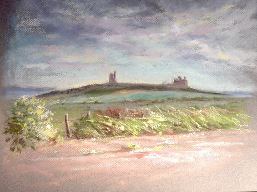 Dunstanburgh from the North