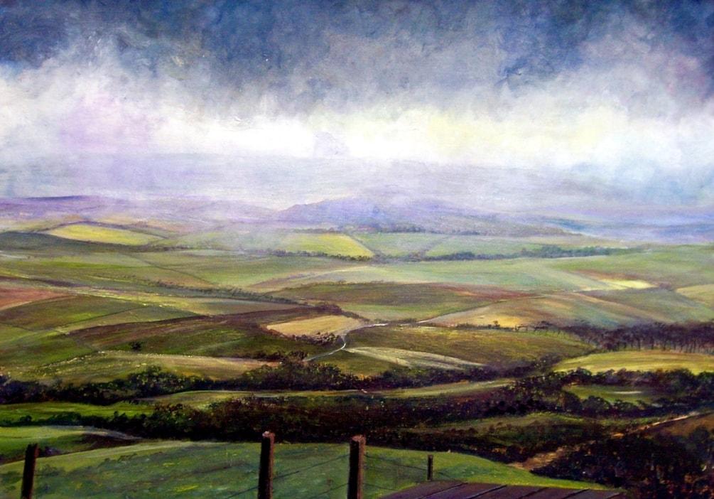 Cheviot Hills, Northumberland
