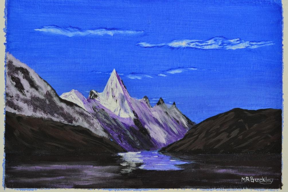 Dawn on Layla Peak, Karacoram Mountains