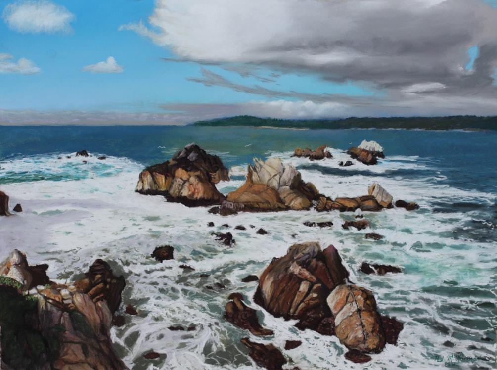 Rocky Shores of Point Lobos