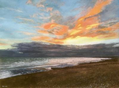 Sunset from St Leonards