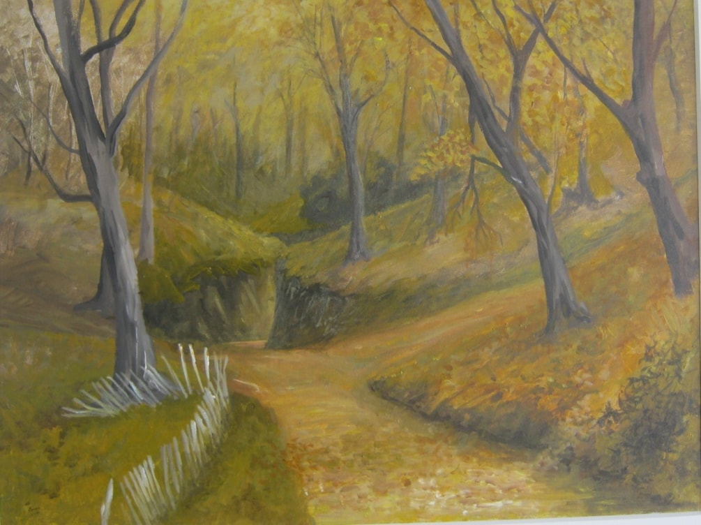 """"""" Autumnal Ambiance """"   in acrylic"""