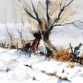 Winter Willows....after 'Ted Wesson'