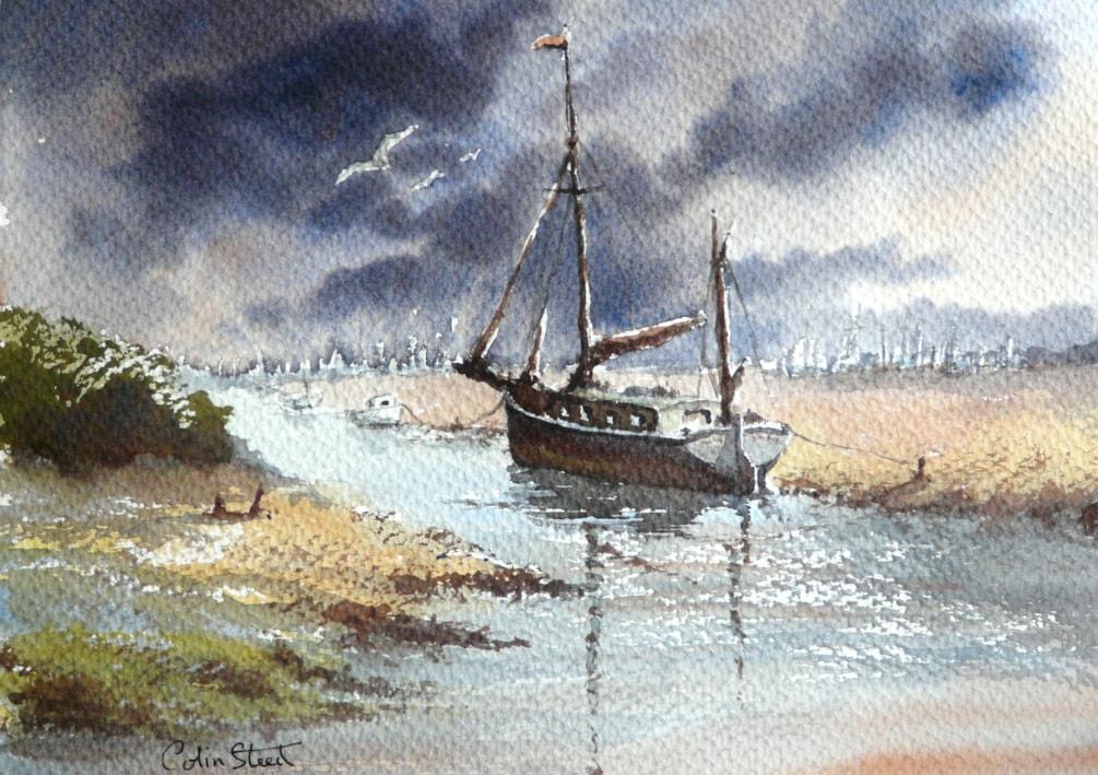 Storm Clouds, Blakeney, Norfolk