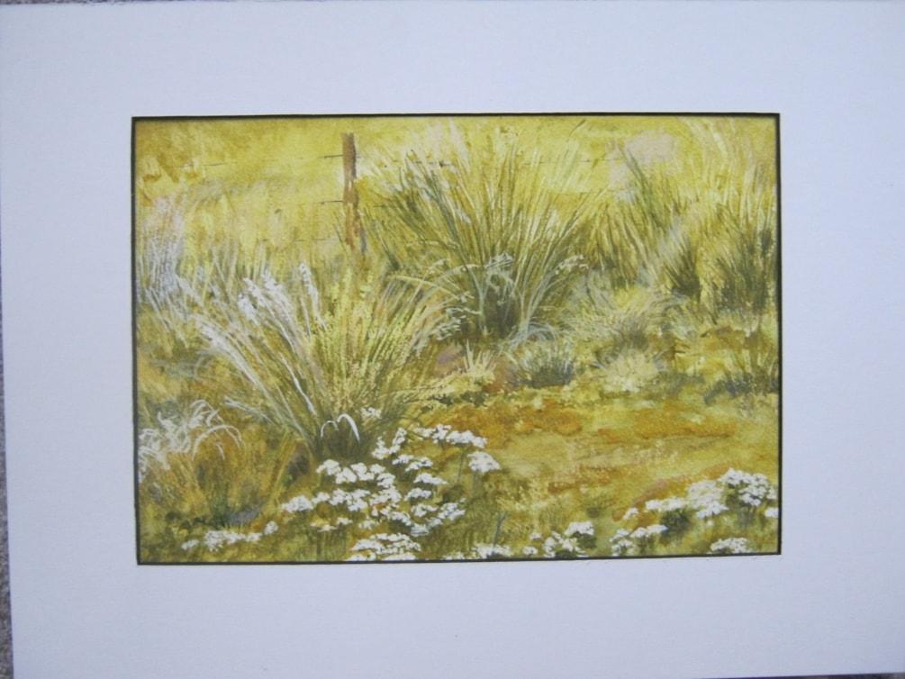 """""""Kiwi keck"""" watercolour"""