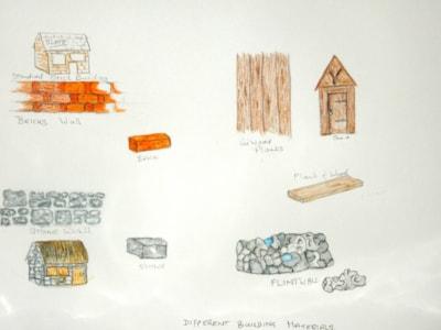 BUILDINGS IN THE LANDSCAPE COURSE   part 1.  building materials