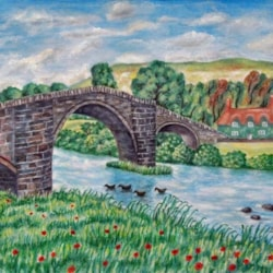 Llanrwst Bridge - Wales