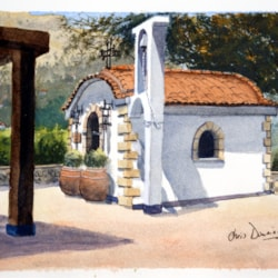 Pefkos chapel