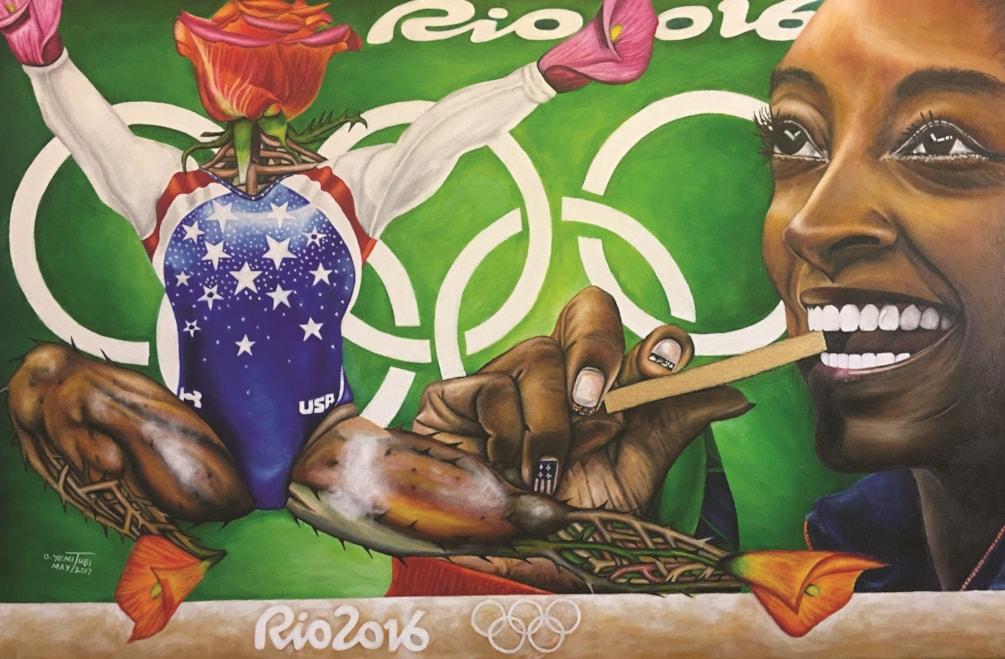 Simone Biles: The Golden Rose