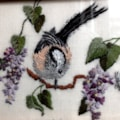 Long Tailed Tit on Lilac