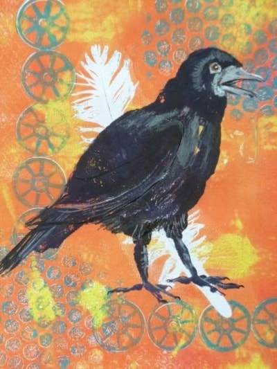 Crow Print 1